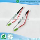 Factory custom Special purpose Molex 2P harness with tube and resistance wire harness assembly