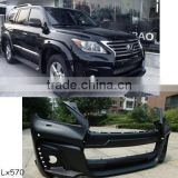 High quality PP material Black Bison LX570 WD design body kit conversion kit for Toyota Lexus 570 W style 08~