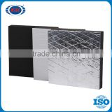 Guangdong China flexible Rubber self adhesive heat insulation pvc foam sheet for air conditioning