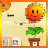 DIY Decorative Beautiful Sunflower Wall Sticker Factory Supply Best Price Wall Lamp