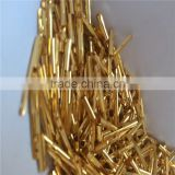 hardware metal machine components mass produciton provide gold plating service processing