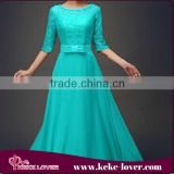 vestidos casual ladies office dresses for beach party sexy office girls designer chiffon dress blue short sleeve maxi dress