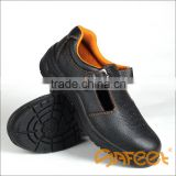 Low-cut buffalo leather steel toe cap sandal safety shoes dielectric safety shoes labour shoes with composite toe cap (SA-5101)