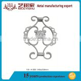 Wrought Iron Panels for Fence or Gate/ornamental aluminum castings for sale
