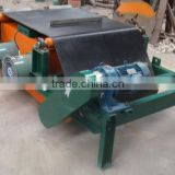 Suspension fan cooled overband conveyor belt electric magnetic separator