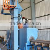 Machinery for surface cleaning SXGP300-2 Steel Tube Shot Blasting Machine-External Cleaning