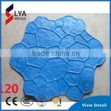 PU Material Leather Stamp Good Quality Concrete Stamp Mats Floor Mould