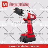Electric POWER TOOL ELECTRIC drill type fashion design 18V Cordless drill with LED LIGHT