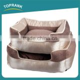 New design soft plush modern luxury dog beds with removable cushion