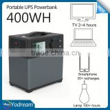 Portable UPS Large Capacity Lithium battery 400Wh power bank, online UPS backup PS5B UPS Power Supply