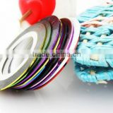 Beauty Nail Sticker Multicolor Nails Striping Tape Line DIY Nail Beauty Art Tips Decoration Sticker