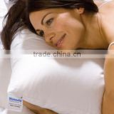 Natural filled white goose down pillow