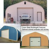 High Quality Steel Structure Car Garage / Steel Structure Shed / Steel Structure Two Story Building Made By China