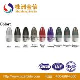 Carbide Tungsten Fishing Bait Sinkers With Several Color