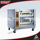 3 Decks Commercial Deck Style Gas Pizza Oven For Sale And Price/Bakery Plant/Bakery Facilities