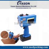 Newest Style AU-127c Hand-held Ink Jet Printer Can Print Production Date QR Code Bar Code Graphics