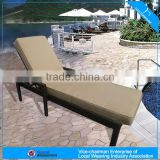 A - outdoor furniture modern sun lounger bed wicker bench CF780
