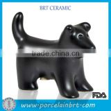 Wholesale New Product Black Dog Shape Pet Urns