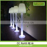 Can connect the bluetooth speakers to play music floor lamp,Indoor Remote Control Color Changing Cordless Led