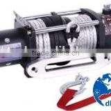 Auto accessories for cars 12000lbs synthetic rope mini 12v winch electric