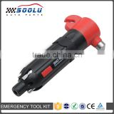 6 in 1 Multifunctional Emergency Car Auto Escape Hammer With Flashlight and Screwdriver