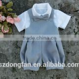 Baby Boy Romper Linen Baby Wedding Outfits Boys Formal Suit