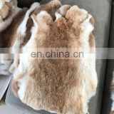 China factory wholesale large raw color tanned rabbit pelt skins for crafts