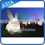 Advertising Inflatable Cartoon Character Toys Rabbit for Theme Park/ popular inflatable Rabbit mascot