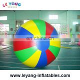 mixed color inflatable helium balloon, giant round balloons for advertising