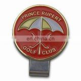Custom Hard Enamel Golf Cap Clip Ball Marker