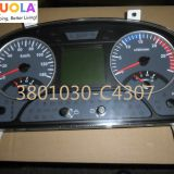 Dongfeng tianlong instrument cluster 3801030-C4307 Auto Meter