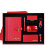 Electronic Gift Set Custom 6 in 1 Corporate Gift Set with Notebook Power Bank