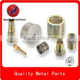 oem cnc machining precision small brass turned parts