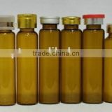 High quality 10ml amber glass oral liquid bottle