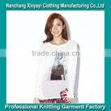 2013 Trendy T-shirts for Women with High Quality / Bulk Buy from China Knitted Garment Factory / Wholesale Clothing