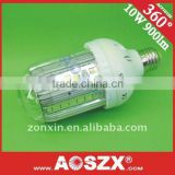 HOT SALE! 12V 24V 220v E27 10W SMD LED Corn Bulb E27 936-1120LM Ultra bright E40 Aluminum Alloy body good heat sink