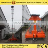 anti-rotating telescopic cylinder hydraulic lift platform truck
