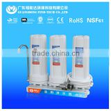 3 stage Household Pre-Filtration Use water purifier without electricity / with Activated Carbon