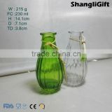 230ml Clear Glass Vase Transpared Glass Vase For Household Decoration