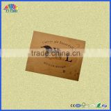 Hot sales garment leather label, leather label for jean, leather label for bags, PU leather label
