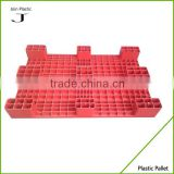 Light duty flat side cheap plastic pallet factory