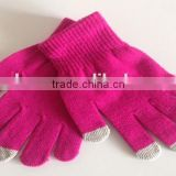 Ladies Knitted Driving Gloves Touch Screen work glove winter glove Capacitive Smartphone