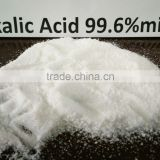 Snow white crystals Oxalic Acid 99.6% industrial grade for derusting