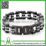 Jewelry Stainless Steel Mens Motorcycle Bike Chain Bracelet Heavy Metal Link Bangle Wholesale