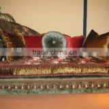 Antique style luxury chaise lounge A008