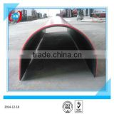 uhmwpe pad lining of the bed liner shoot bunker / coal bin liner / hopper of track