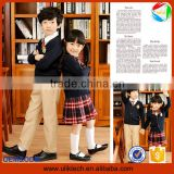 2016 Fashion sweater design kids school uniforms for korean girls high school uniform wholesale primary school uniform(ulik-008)
