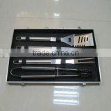 5pcs BBQ set with aluminium case