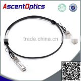 hot selling fiber optical module high quality 10G SFP+ Copper Twinax cable 1 M passive Extreme compatible