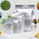 dry fruit /tea /coffee packaging bag/aluminum foil food packaging bag with quad seal and zipper bag